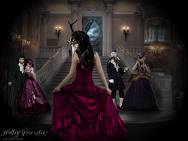The Masquerade ball by Kristenolejarnik