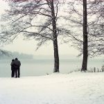 two snowy couples by 6igella