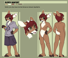 Oliver Danfort Reference - Commission by strawberryneko33