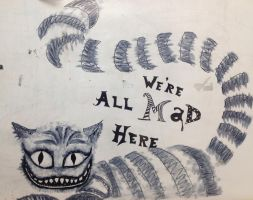 Cheshire Cat by mornendragonchild