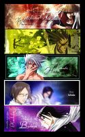 Bleach + Naruto Signatures by eileenting88