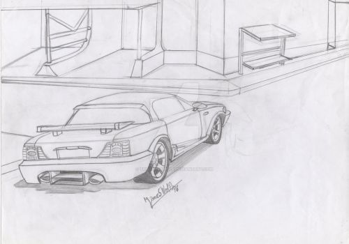 my car drawings by thejameswolf on deviantart
