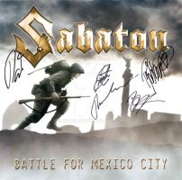Sabaton Battle for Mexico City by rswolvi