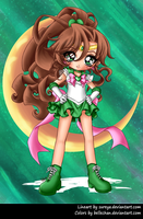 Super Sailor Jupiter by Bellechan