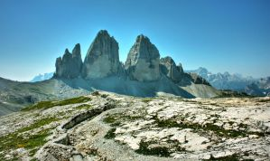Trenches - Tre Cime di Lavaredo by DiplomacyShadow
