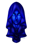 Blue Diamond in the Sky by VenneccaBlind