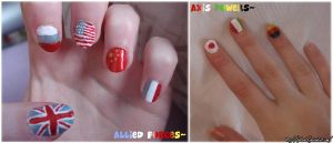 Allied and Axis-nails 8D by Feffelini