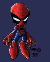 Little Spidey by Red-J by gendosplace