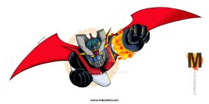 M is for Mazinger Z by mdavidct