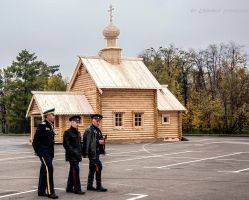 Wooden Church Chapel by Lyutik966