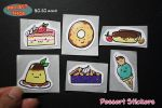 Desserts Stickers by Saiya-STORY