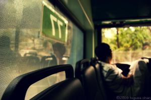 on bus 77 by Togusa208