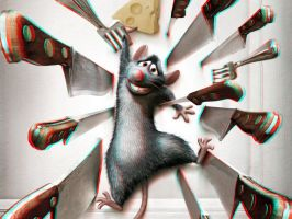 Ratatouille 3-D by MVRamsey