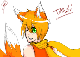 Tails by cinnamelon