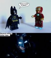 Does It Come In Black - Iron Man by Anonyme003