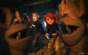 Kim Possible - The Monkey Cave by CYCOMarts