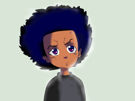Huey Freeman by HueyWuzHere