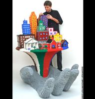 lego tower is hand by asddsa1995