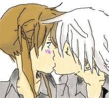 Sweet kiss for maka by TheLovePotion