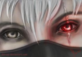 Kakashi - Eye by Dorcyy