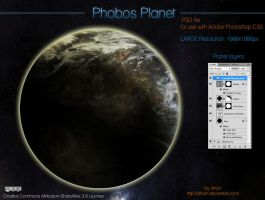 Phobos Planet by drkzin