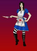 Mad Alice by LordRoderick