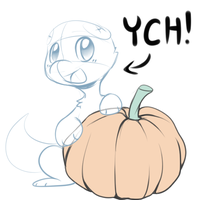 YCH Auction! (Pumpkin love) [CLOSED] by Nestly