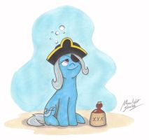 Pirate Trixie by MoonlightScribe