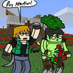 Minecraftian Attention Problems by Mariannefosho