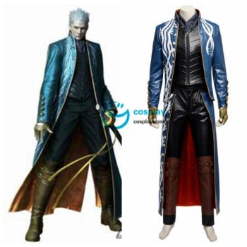 DmC Devil May Cry 3 Vergil Cosplay Costume by cosplayclass