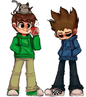 edd and tom by misuimin