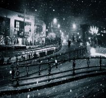 :winter night: by hayal25