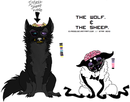 The Wolf And The Sheep. by CHANELGoo
