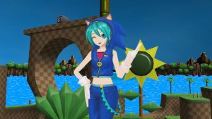 Music Girl Miku Sonic Download by cirs5sonic
