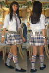 Me in school outfit with vest and without book by Magic-Kristina-KW