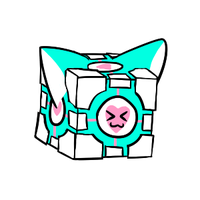 companion cube for kami +request+ by CoolCodeCat