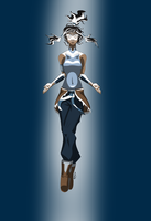 Korra -- the Avatar State by Invader-Mika