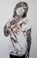 Oliver Sykes by youbesonicimtails