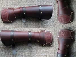 Knuckle Duster Bracers by Archanejil