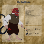 Ted - Character Sheet by Bumme4