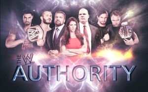 The WWE Authority by StefanMK1