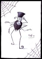 'is a gentlemanly spider? by frisca-freak