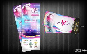Yendi's Invitation and Tickets by TedZ01