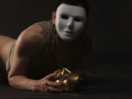 Double mask 1 by amateurartphoto
