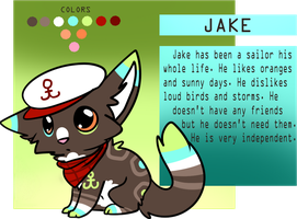 Jake the Sailor Reference by sherbi