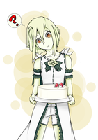 But.... Shio doesn't eat cake (Shio, God Eater) by Taeke