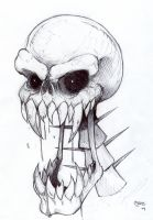 Fangskull by XNegativecreepX
