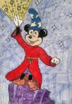 Sorcerer Mickey by Sparrow12592