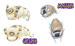 Requested: Golgrub and Maggore by JoJoDee