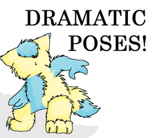 DRAMATIC POSES by Flimingow